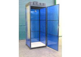 Кованый душ №1 (вставки из органического стекла)