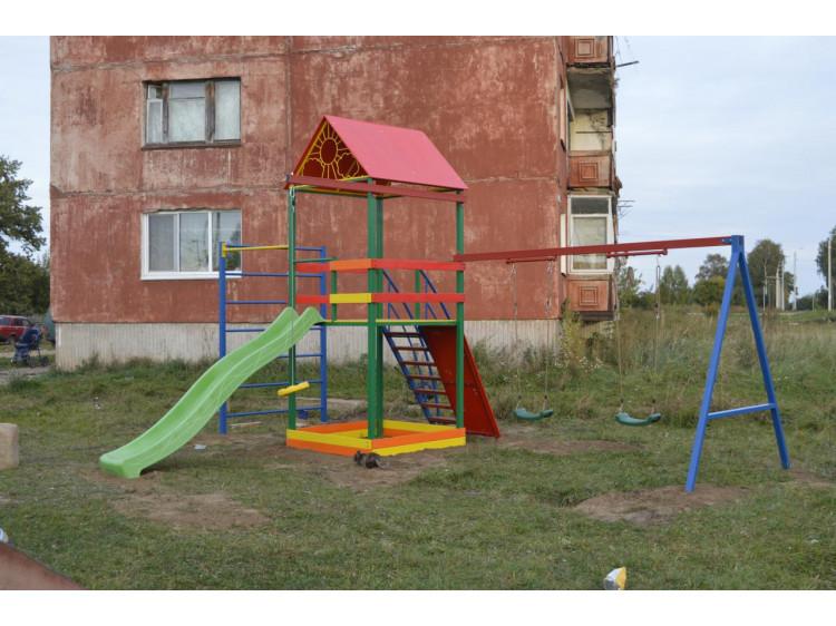 Детская площадка, 4 сезона кованая