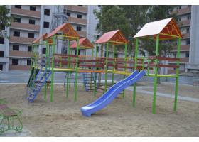Кованый детский городок №8
