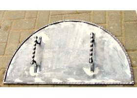 Кованая крышка для печи №1