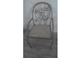 Кованое кресло №3 Тростник
