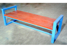Кованая скамейка №12 Меандр