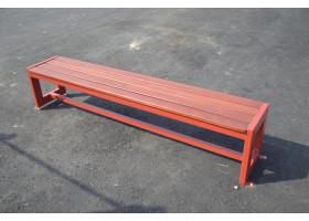Кованая скамейка №15 Ящик