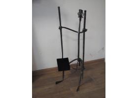 Кованый каминный набор №3 Лыжник (2 предмета)