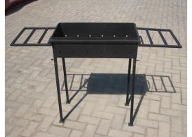 Кованый мангал разборный №2 Ящик (с Кованая подставками)