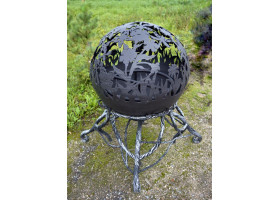 Кованый шар камин №3 Русское поле