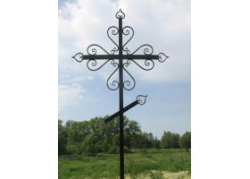 Кованый крест №1