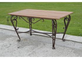 Кованый стол №14 Добротный