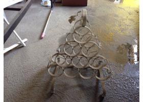 Кованая Кованая бутылочница №1 Пирамида