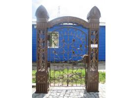Кованая калитка №6 Царские врата