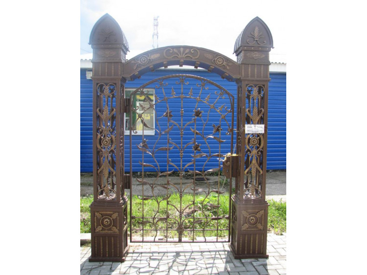 Калитка №6, Царские врата кованая