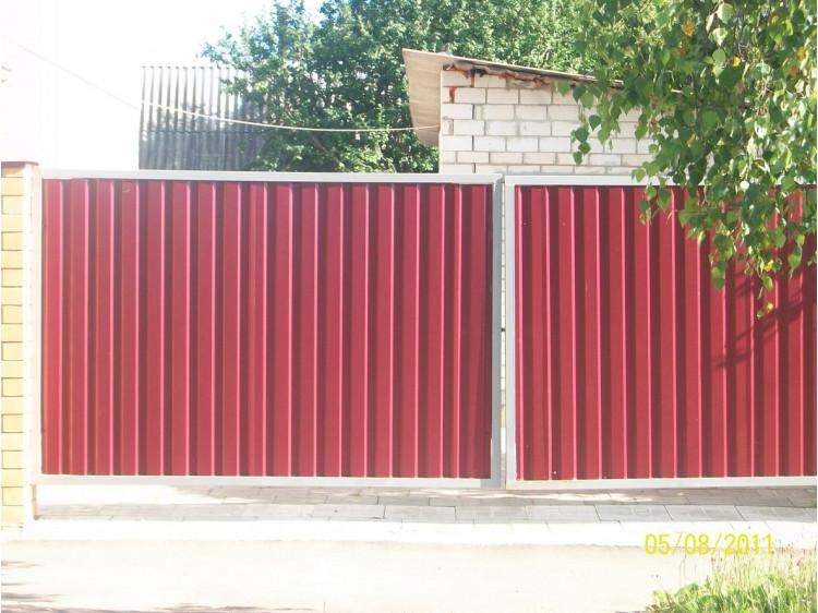 Ворота №1, распашные
