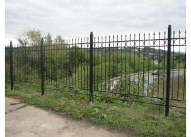 Кованый забор №1 Стража