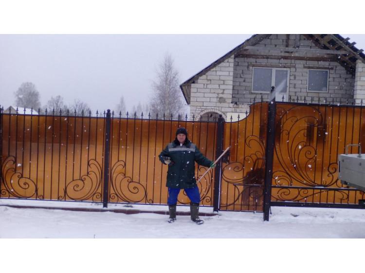 Забор №9, Волнистый